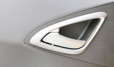 car door handle inside photo