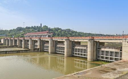 spillway: dam in the city