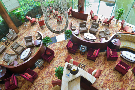 lobby room of hotel at chengdu,china.Photo is taken on 22 July 2011.