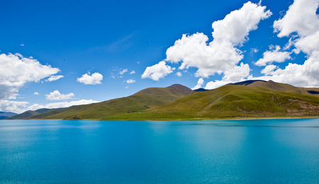 Yamdrok Lake at tibet,china photo