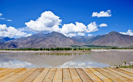 Yamdrok Lake at tibet,china photo