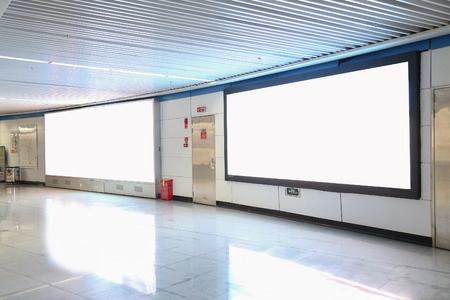 lightbox: lightbox in subway