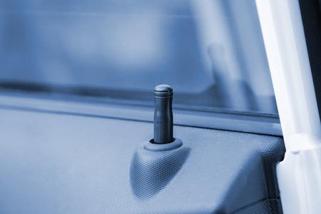 car door safety lock Reklamní fotografie
