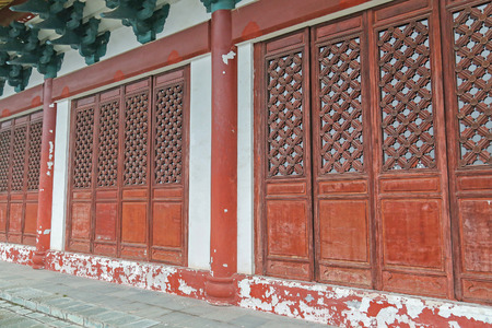 old wooden door: chinese old wooden door