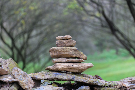 pile up stone photo