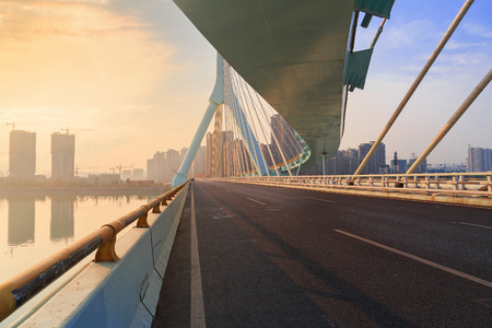 road on bridge photo