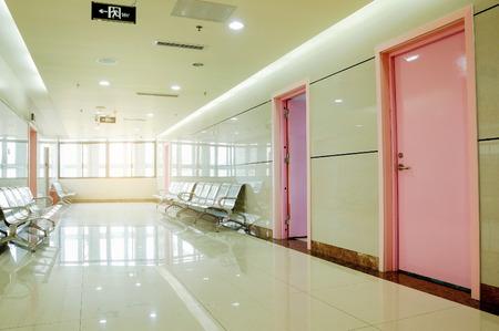 healthcare facilities: hospital interior
