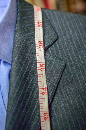 made to measure: suit size
