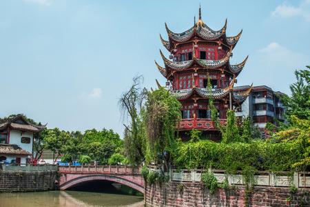 wangjianglou at chengdu,china Stock Photo