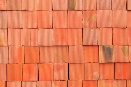 heap: a heap of red brick