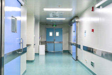 hospitales: pasillo en el hospital Editorial