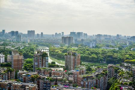 chengdu: chengdu city at china