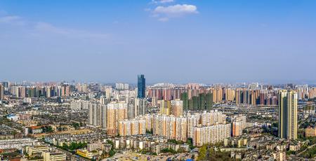 chengdu: chengdu,china city skyline