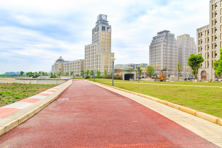 office buildings at JinJiaLin,MianYang,China Reklamní fotografie