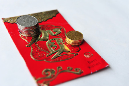 packets: Chinese new year red packets