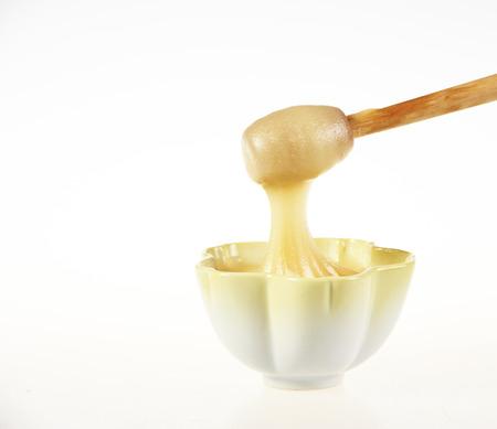 Puree honey Stock Photo