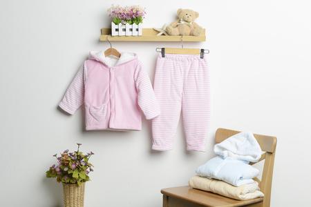 Baby winter pajamas