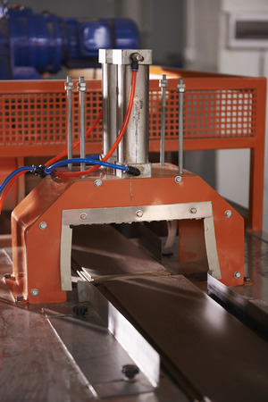 cutting: Cutting machine Stock Photo