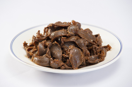 gizzard: delicious ducks gizzard Stock Photo