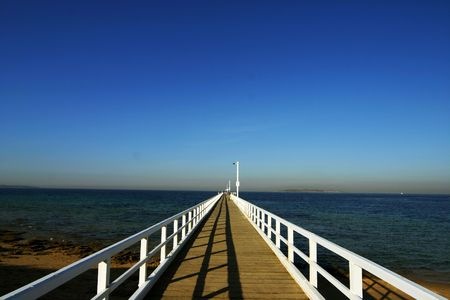 Victoria Jetty in Geelong