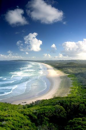View from top of Byron Bay, NSW, Australia Stock Photo - 238772