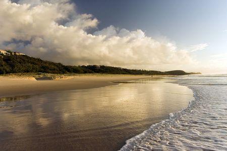 Shot at Sunrise beach, Queensland - Australia photo