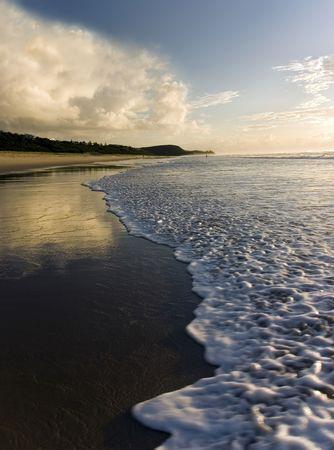 Shot at Sunrise Beach, Queensland, Australia photo