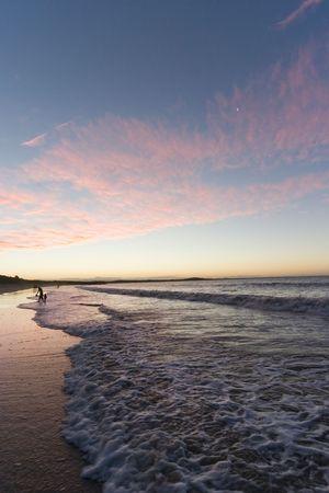 Sunset at Noosa Beach photo