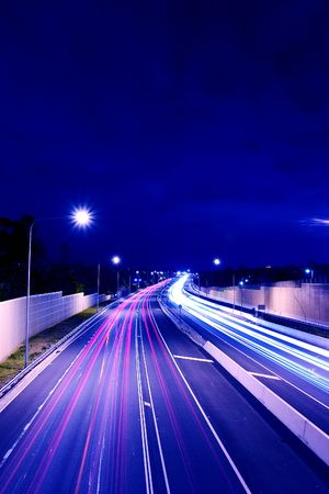 M3 highway shot from Holland Park bridge Stock Photo - 238804