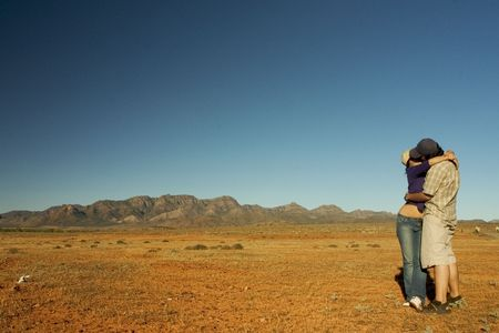 flinders: location: Flinders Ranges, Australia Stock Photo