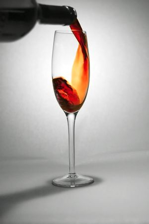 Pouring red wine Stock Photo - 240553
