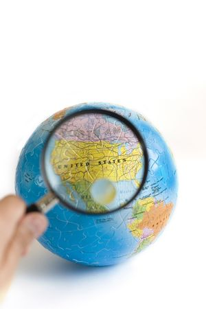 Exploring USA with Magnifying Glasses photo