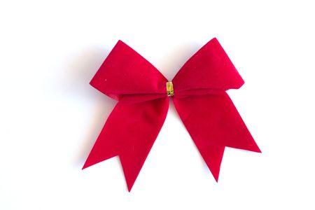 Christmas bow photo