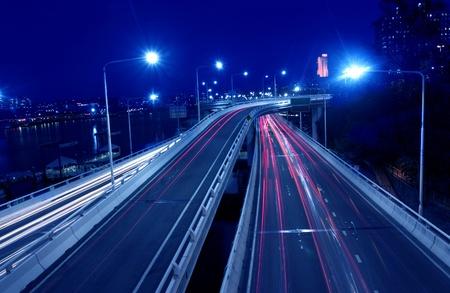 City Road at night photo
