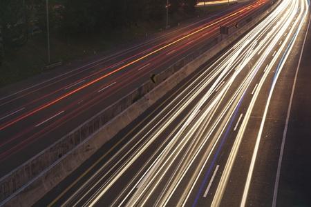 Rush hour traffic in the Jakarta photo