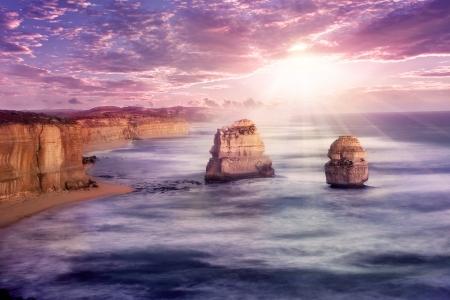 number 12: 12 apostles at Great Ocean Road, Australia