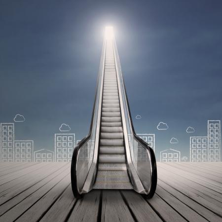 high way: Escalator to the future
