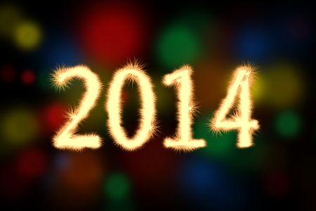 Happy new year 2014 background. Celebration background for your posters photo