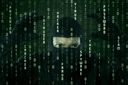 cyber crime: Hacker looking for password and user information