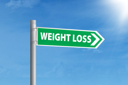 guidepost: Guidepost to choose weight loss. shoot outdoors