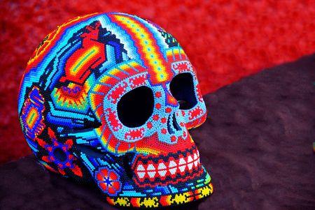 Mexican skull   Stok Fotoğraf