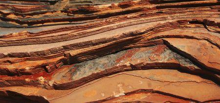 limestone: Red layered limestone