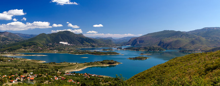 Rama Lake  Ramsko jezero  in Bosnia-Herzegovina Stock Photo