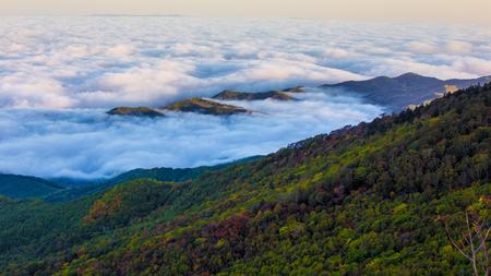 The fantasy of the cloud sea