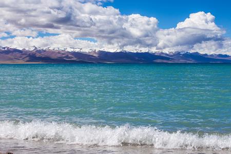 namtso lake scenery 版權商用圖片