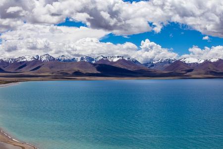 Paradise Namtso-meerlandschap Stockfoto