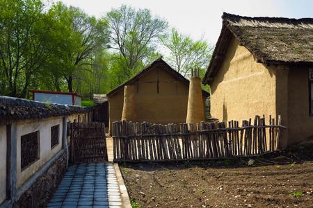 oude architecturale van gebouwen