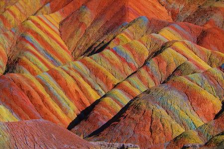 Colorful Danxia landform Banco de Imagens - 109617915