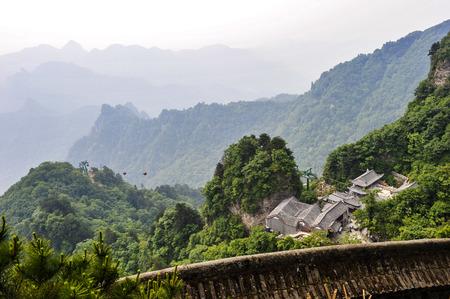 China hubei wudang mountain Stock Photo