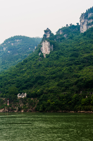 conservacion del agua: On May 30, 2011, three gorges of the Yangtze river in China
